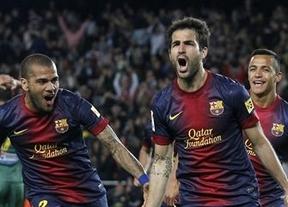 El Barça sufre, pero se acerca al alirón tras ganar al Levante (1-0)