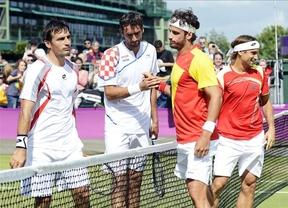 Feliciano y Ferrer, el consuelo de luchar por una medalla en dobles