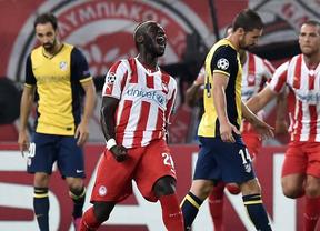 Míchel da una lección maestra de fútbol desde Atenas: Olympiacos 3, Atlético de Madrid, 2