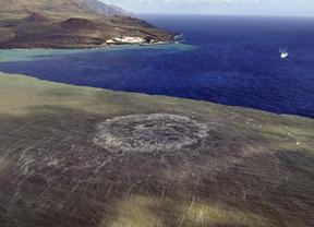 La erupción submarina de El Hierro sube la temperatura del mar 11 grados
