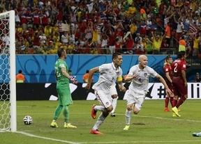 El Portugal de un Ronaldo bajo de forma salva un empate que sabe a despedida ante EEUU (2-2)