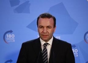 Manfred Weber dice en Toledo que tras las promesas de Syriza