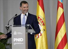 El Príncipe de Asturias inicia su primera visita oficial a la Maestranza Aérea de Albacete