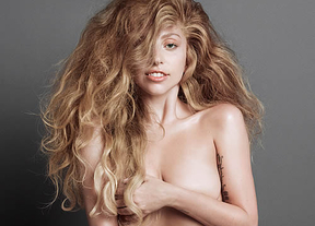 Lady Gaga, desnuda y natural para 'V Magazine'