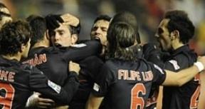 Continúa el milagro Simeone y el Atlético ya gana hasta jugando mal, como en Pamplona (0-1)