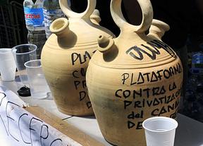 El 15-M se suma al 'referéndum' contra la privatización del agua
