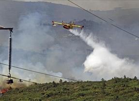 Concentraciones por los despidos de los bomberos forestales que GEACAM desmiente