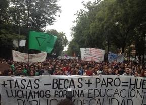 Decenas de miles de manifestantes protestan en Madrid contra la LOMCE