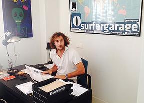 Alejandro, Manuel, Gonzalo y Jorge presentan Surfergarage: