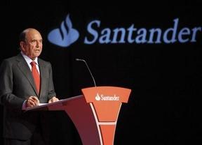 El Santander gana en el primer semestre casi lo mismo que en todo 2012