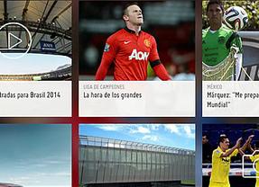 Mundial de Brasil: 5 'apps' para disfrutar de lo mejor del fútbol