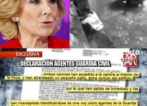Así fue el asalto a la vivienda de Esperanza Aguirre