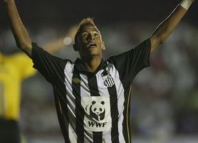 El deseado Neymar se exhibe con 4 goles ante el Atlético Paranaense