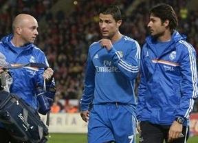 El Real Madrid, sin sus dos 'cracks' ante el Valladolid: Cristiano Ronaldo y Arbeloa son baja