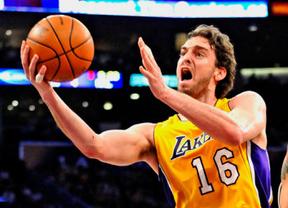 Gasol vuelve por sus (mejores) fueros y conduce a los Lakers a su primera victoria de la temporada (96-71)