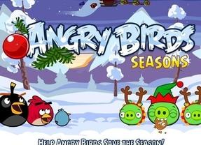 Angry Birds ya celebra la Navidad con una nueva actualización