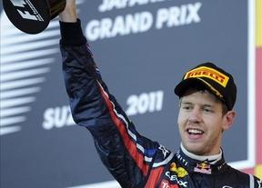 Vettel se proclama campeón en Suiza y le 'quita' el podio a Alonso