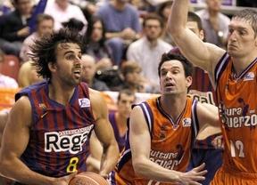 Semifinales ACB: el Barça se apoyará en el cansancio del Valencia para inaugurar el marcador