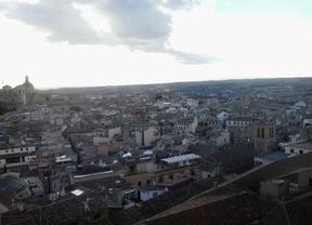 Pinta Toledo desde el cielo de la Biblioteca