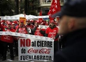 Los trabajadores de Coca-Cola ganan la batalla del ERE en la Audiencia Nacional