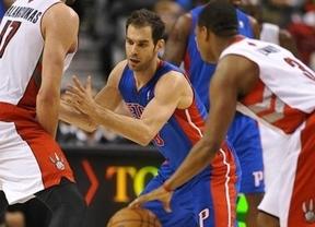 Calderón se venga con Pistons de Toronto, el equipo que lo traspasó contra su voluntad (98-108)
