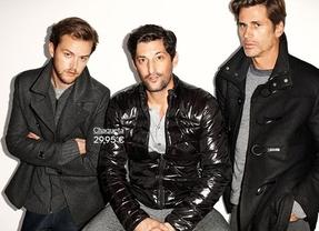 Trío de guapos para presentar la nueva colección de H&M