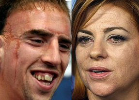 Twitter ardió contra Valenciano por llamar feo a Ribery