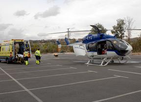 El helicóptero del SESCAM deja de operar en el Hospital Nacional de Parapléjicos