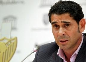 Fernando Hierro se marcha del Málaga
