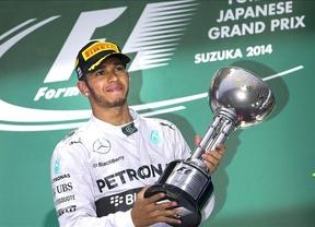 GP de Japón: Hamilton reafirma su liderato, Bianchi sufre un grave accidente y Alonso abandona