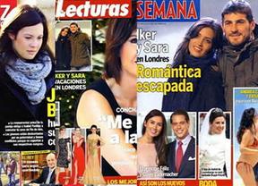 Resumen de las revistas del corazón de la semana: Naty Abascal, Iker Casillas, Carbonero...