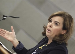 Continúa la histeria en el PP: la vicepresidenta no confirma que Rajoy conociera con antelación el 'caso Rato'