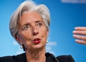 Lagarde, escudera de la solvente España, pide un 'cortafuegos' para Europa