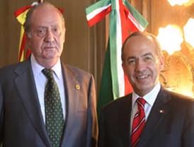 Dialogan el presidente FCH y el Rey Juan Carlos