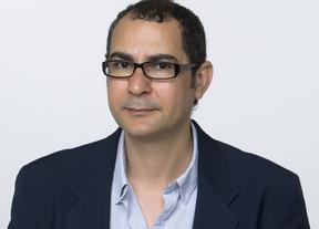 El poeta egipcio Ahmad Yamani, este viernes en la Real Academia Conquense de Artes y Letras