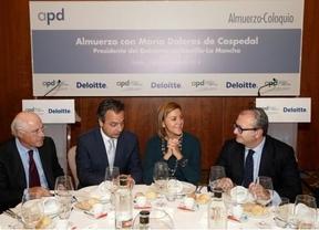 Cospedal dice que los fondos europeos para la industrialización que reciba la región serán para 'innovación'