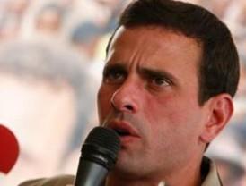 Capriles respalda propuesta de escoger candidato presidencial este año