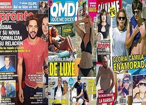 Las vacaciones de los famosos, protagonistas de la prensa rosa