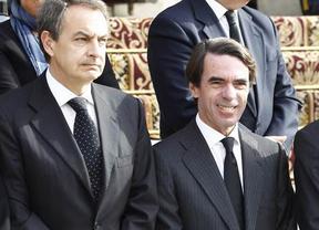 El PP veta al díscolo Aznar en la campaña europea mientras que el PSOE exhibirá tímidamente a Zapatero