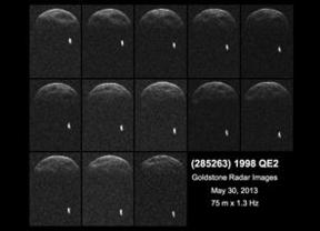 El nuevo asteroide que nos 'visita' tiene su propia luna