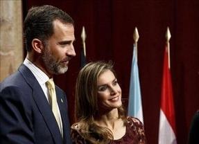 El Príncipe, en la ceremonia de sus premios: