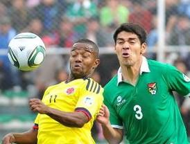 Colombia vence a Bolivia