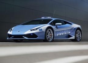 Lamborghini dona un Huracán, con 610 caballos, a la Policía italiana