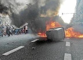 La izquierda abertzale niega estar detrás de la nueva oleada de kale borroka: otro ataque al PP, ahora en Barakaldo