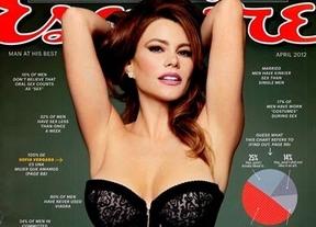 Sofía Vergara posa sexy para la portada de la revista 'Esquire'