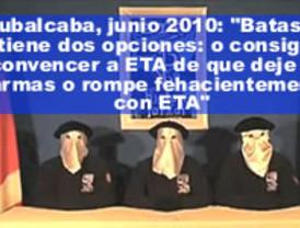 ¿El plan de Zapatero con ETA?: una Batasuna 'legal' en las elecciones de 2011 y un comunicado terrorista antes de fin de año