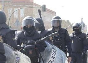 Interior destinará más de tres millones de euros a reforzar equipamiento de antidisturbios y agentes de seguridad
