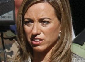 Chacón anuncia la retirada de los F-18 españoles de la misión en Libia