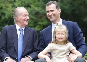 Zarzuela luce a la futura heredera, la infanta Leonor, en sus nuevas fotos oficiales