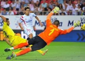 Liga Europa: tres bombazos del Sevilla hunden al 'submarino amarillo' en El Madrigal  sentencian la eliminatoria (1-3)